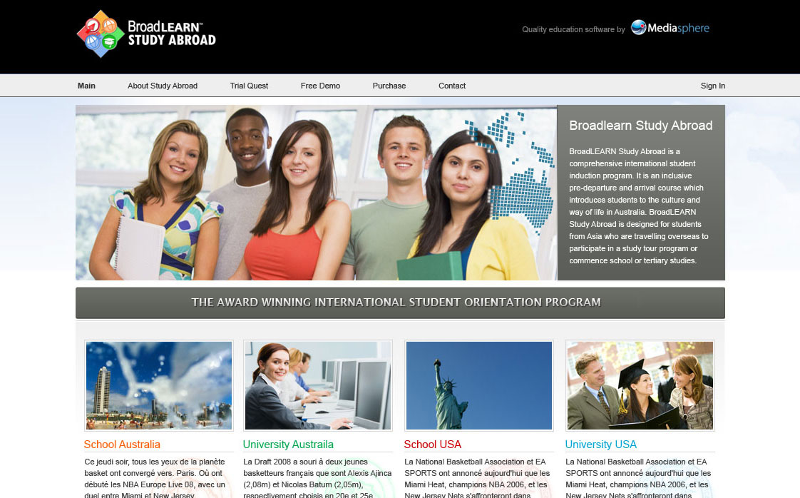 Broadlearn Study Abroad