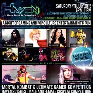 Haven Video Games and Popculture Expo