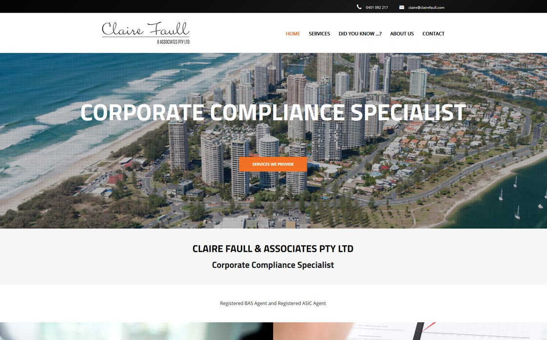 Claire Faull & Associates Pty Ltd