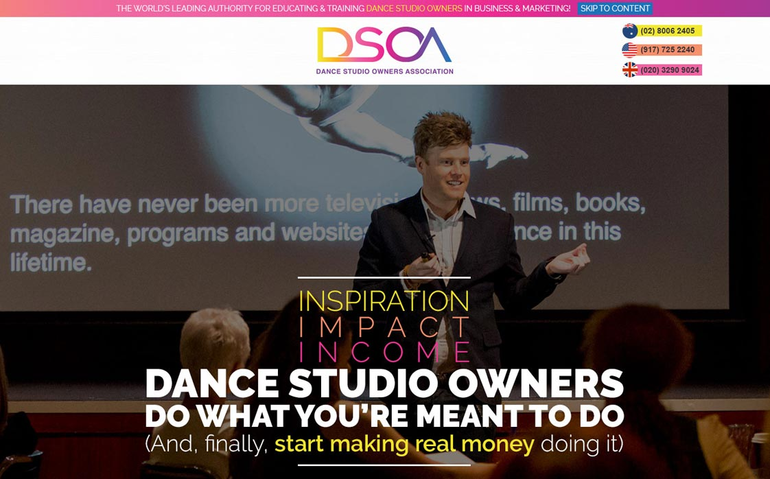 Dance Studio Oners Association
